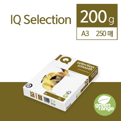 IQ Selection Smooth 200g A3 250매