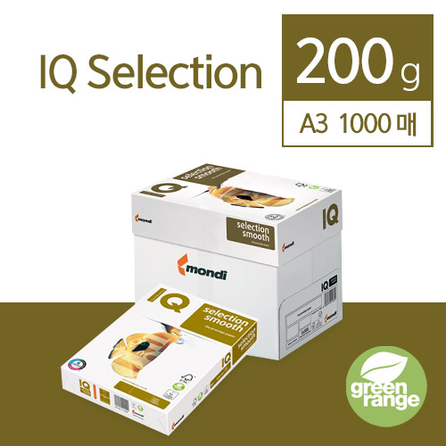 IQ Selection Smooth 200g A3 1000매