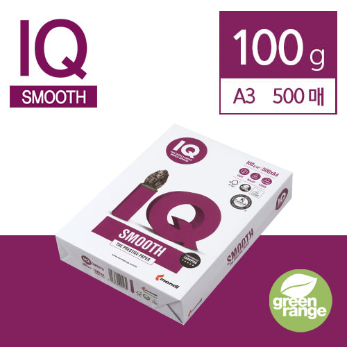 IQ Smooth 100g A3 500매