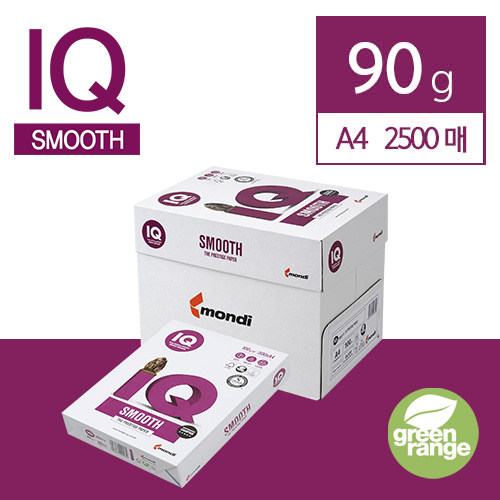 IQ Smooth 90g A3 2500매