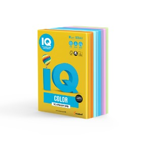 IQ Color A4 색상지 80g 14색 50매